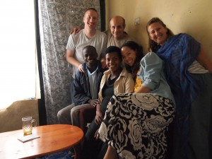 JACARA, Jared, Rogers & his wife, Gift. Our Ugandan family!